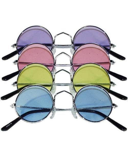 Hippies glasses Colors