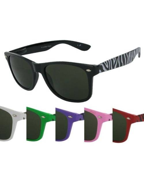 Colors Zebra Glasses Frames