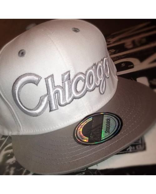 Snapback Grise Chicago