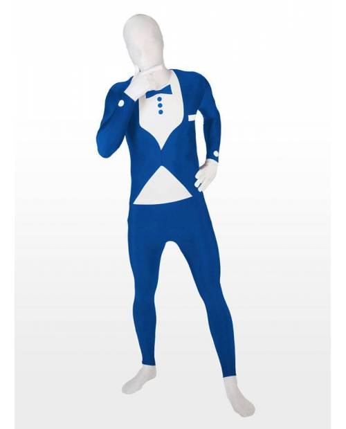 Morphsuits Blue Suit