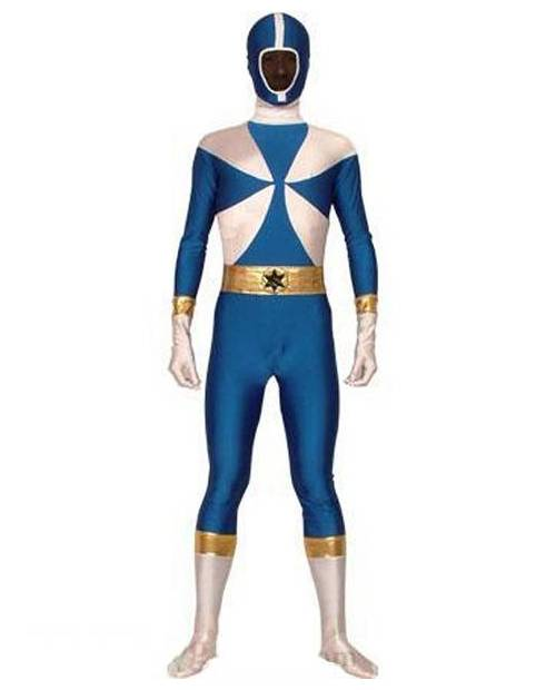 Power Ranger Bleu