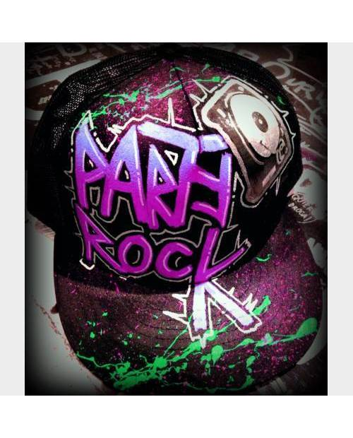Casquette Violette Party Rock