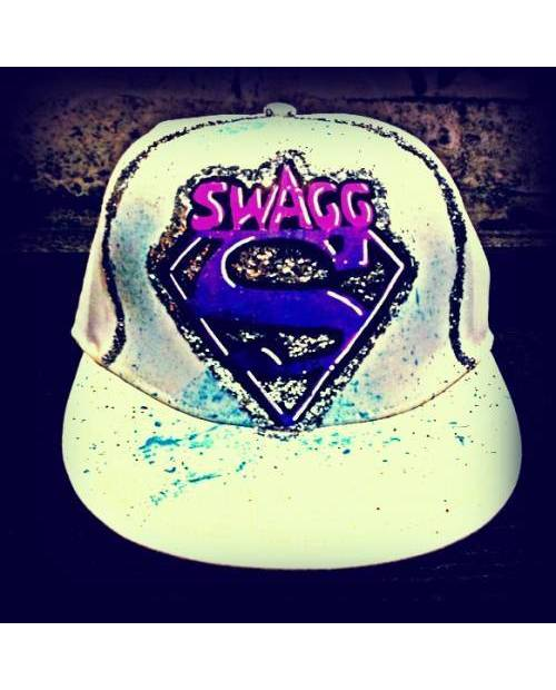 Casquette Swag : Superman