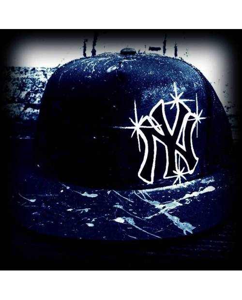 "Casquette Custom NY ""Ghost"" ( 59 Fifty New Era)"