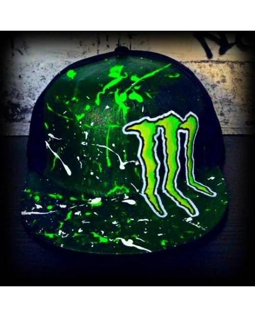 Casquette Fluo Monster
