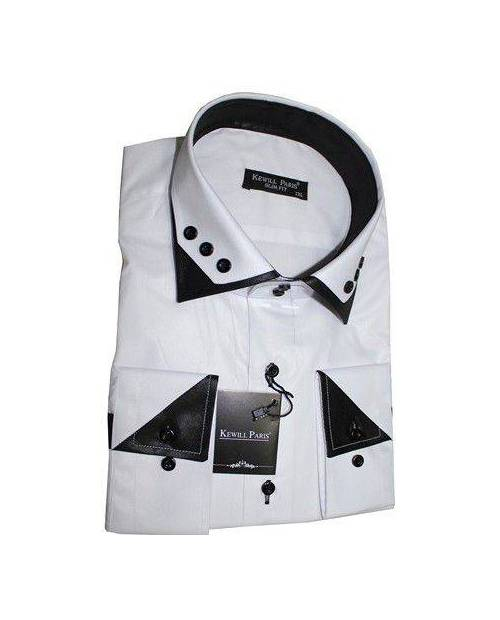 Shirt Wedding Chic Black And White