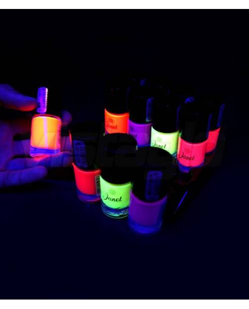 Lot Of 12 Neon Nail Cheap