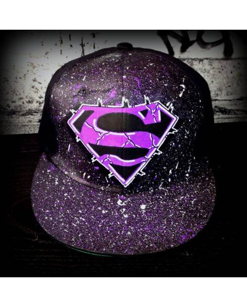 Casquette Superman Street Art