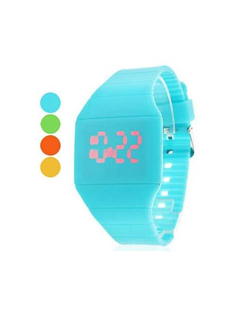 Montre Mode Led Rouge