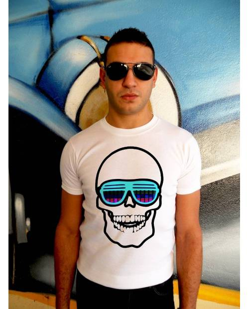T Shirt Electroluminescent Tqualizer Sunny Glasses