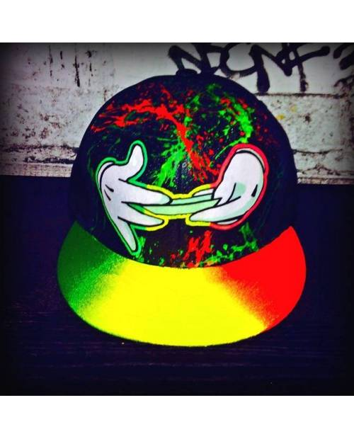 Casquette Mickey x Weed x Graff