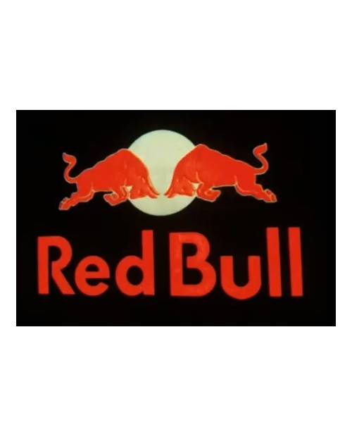 Personnalisation T Shirt Lumineux Red Bull