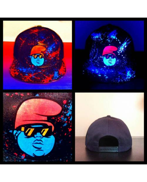 Casquette Notorious Big Smurf