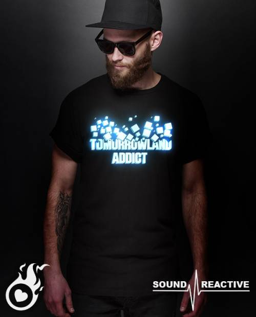 Tee shirt Tomorrowland Addict LED