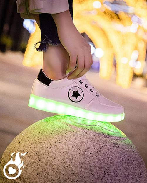LED Design Light up Shoes