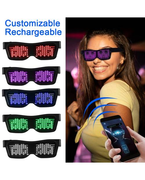 White LED Glasses