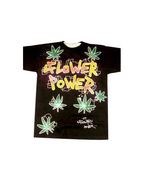 T Shirt Graffiti Flower