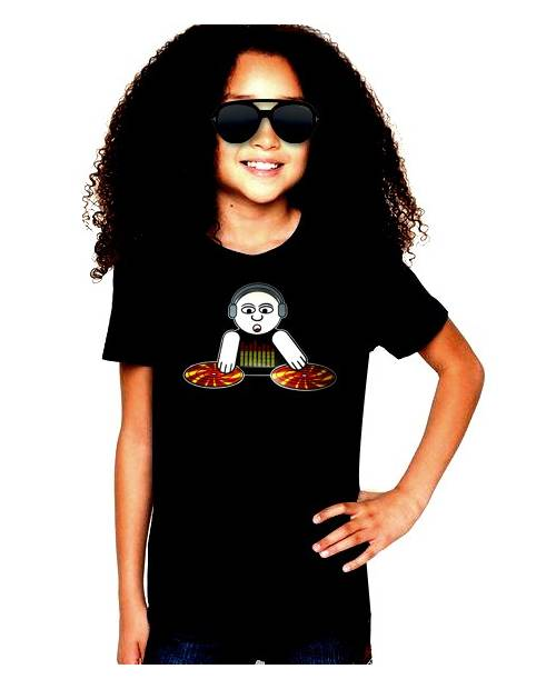 T Shirt Kids Light Godizadeejay